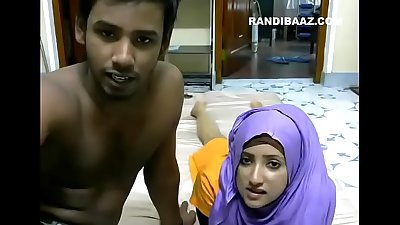 Srilankan couple Riyazeth and Rizna private Show